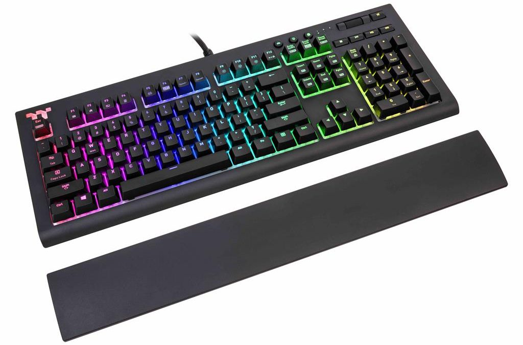 Thermaltake TT Premium X1 RGB Cherry MX Mechanical Gaming Keyboard