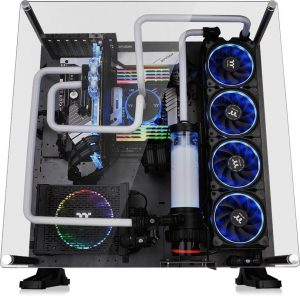 Thermaltake Core P5 TG Ti Edition ATX Wall-Mount Chassis_2