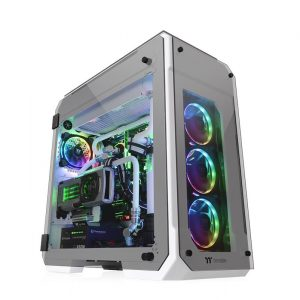 Thermaltake View 71 Tempered Glass Snow Edition Full-Tower Chassis_1