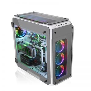 Thermaltake View 71 Tempered Glass Snow Edition Full-Tower Chassis_2