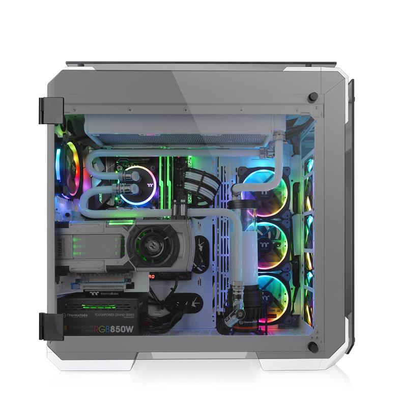 Thermaltake View 71 Tempered Glass Snow Edition Full Tower