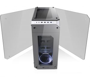 Thermaltake View 71 Tempered Glass Snow Edition Full-Tower Chassis_5