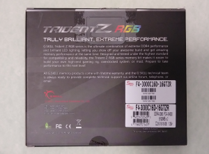Trident Z RGB Box Back