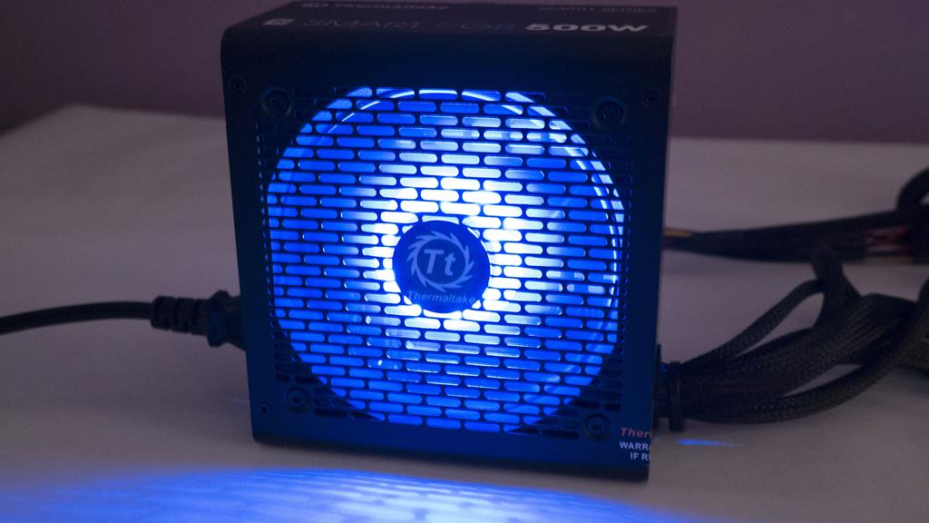 Thermaltake SMART RGB 500W Power Supply Overview