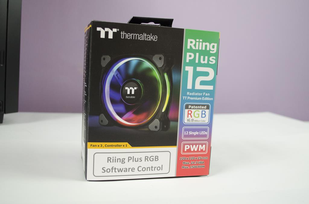 Thermaltake Riing Plus 12 RGB Radiator Fan 3-Pack Review