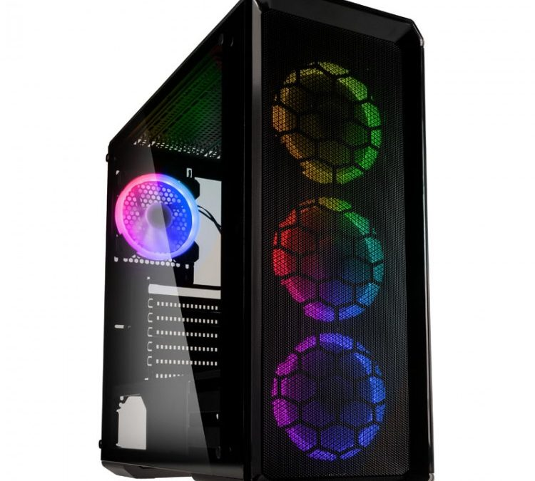 Kolink Release Levante Midi Tower Airflow Gaming Case
