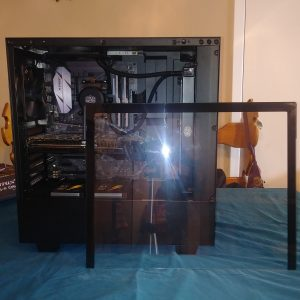 H500 Complete Build Glass Resting