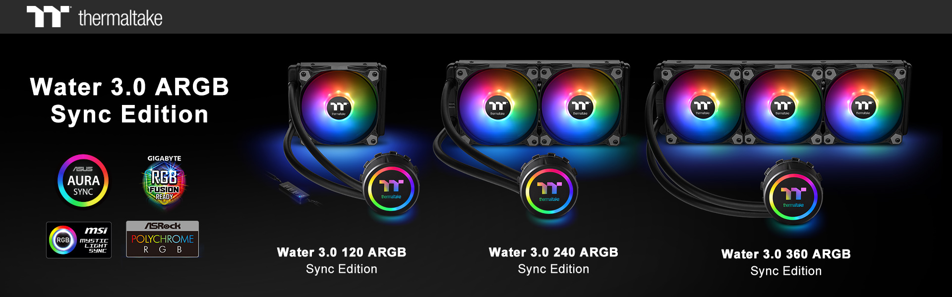 Thermaltake New All-In-One Liquid Cooling Solution The Water