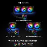 Thermaltake New All-In-One Liquid Cooling Solution  The Water 3.0 ARGB Sync Edition Series at CES 2019