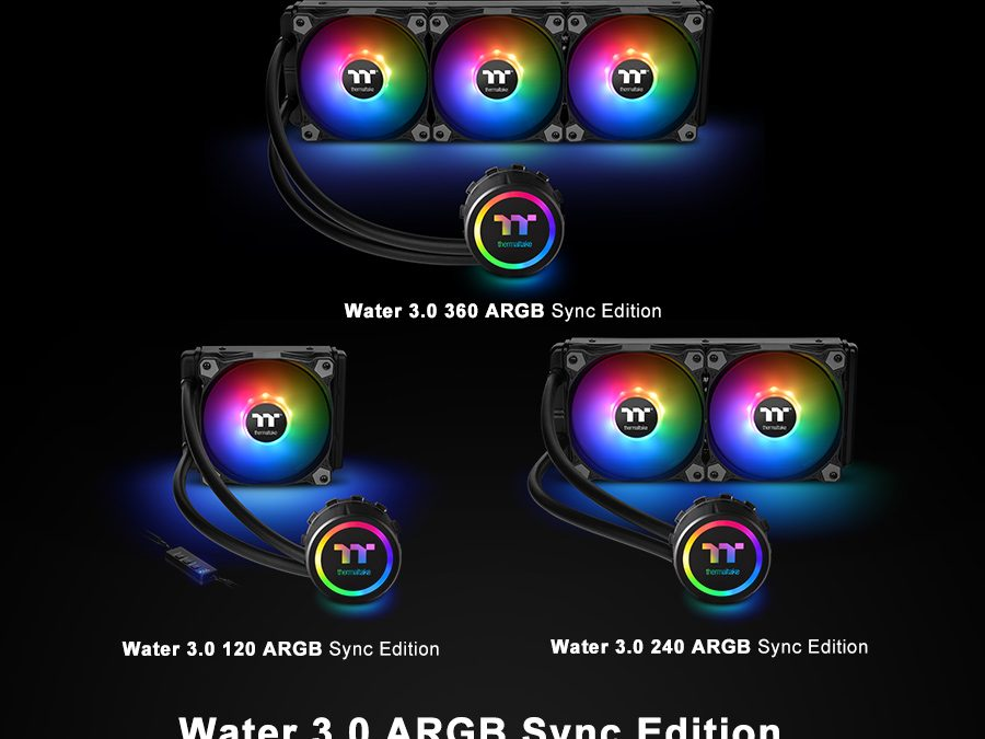 Thermaltake New All-In-One Liquid Cooling Solution The Water 3 0