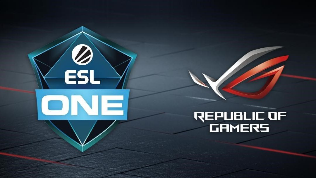 ASUS Republic of Gamers Announces First-Ever Global Partnership for All ESL One Powered by Intel Events in 2019