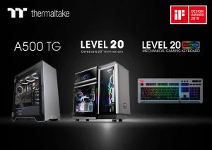 "Thermaltake wins the ""2019 iF Product Design Award"""