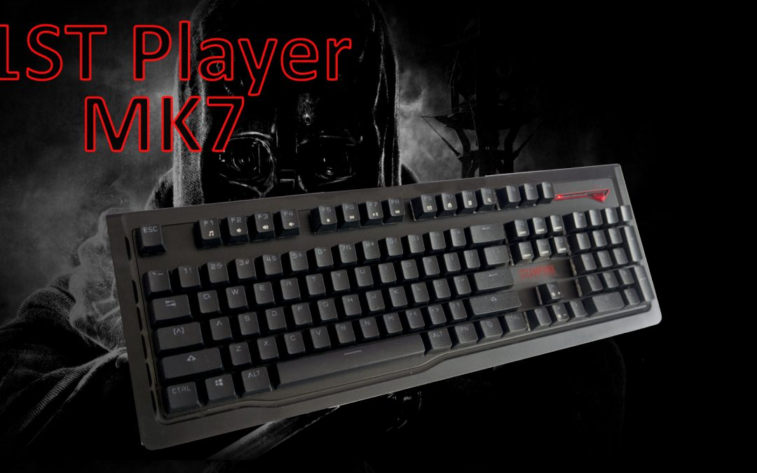 1STPLAYER MK7 Mechanical Gaming Keyboard Review
