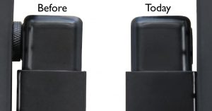 screw plug before and after