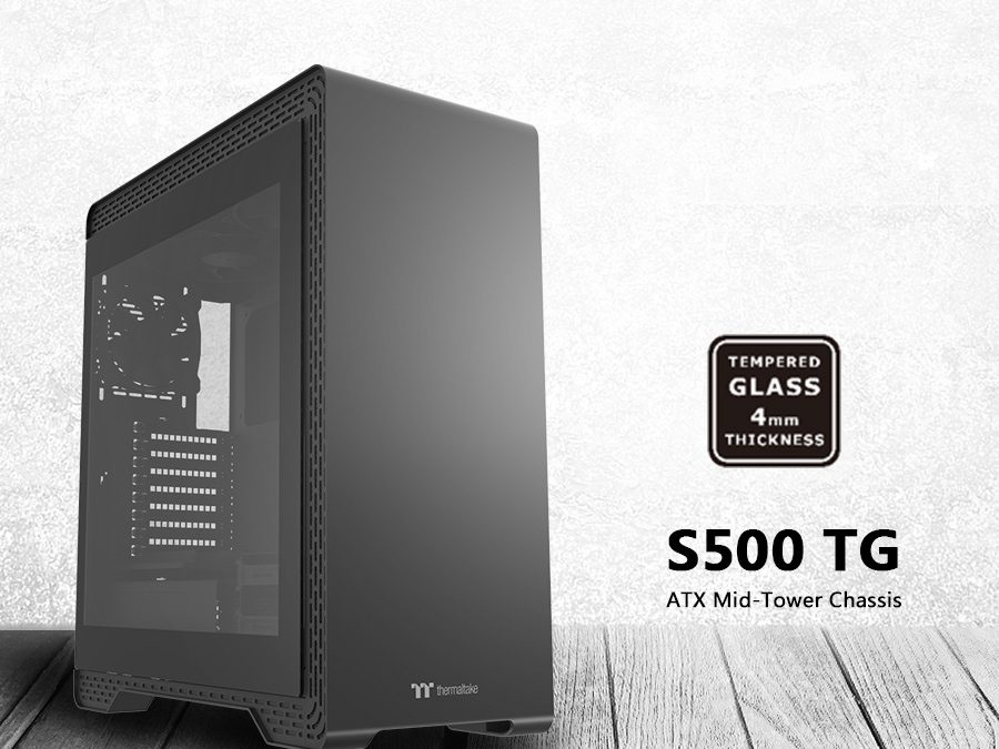 Thermaltake Introduces S Series Steel Tempered Glass Edition Chassis