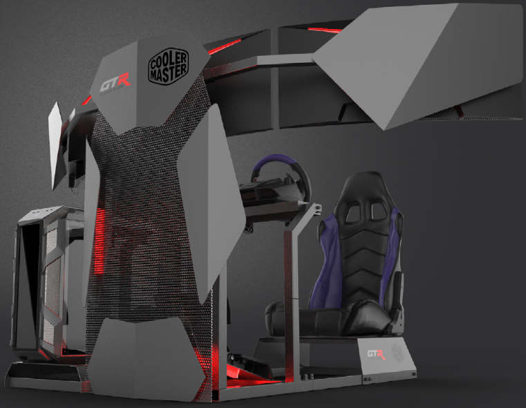 Cooler Master Announces Collaboration with GTR Simulator