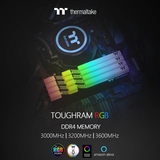 Thermaltake COMPUTEX 2019 Presents:  TOUGHRAM RGB / TOUGHRAM DDR4 Memory