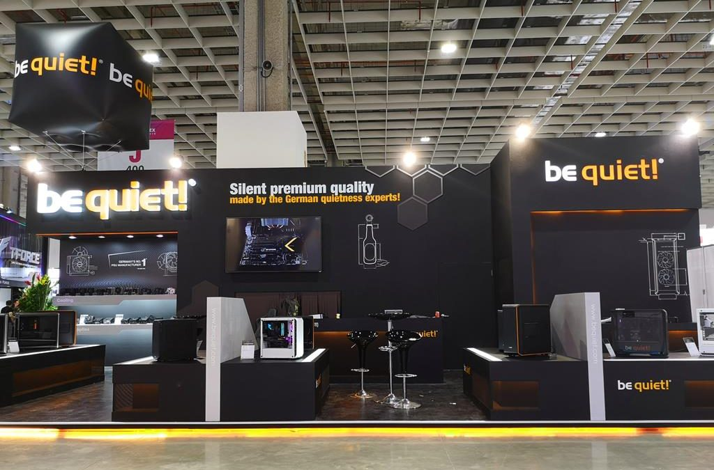 Computex 2019: New ATX chassis and power supply units from be quiet!