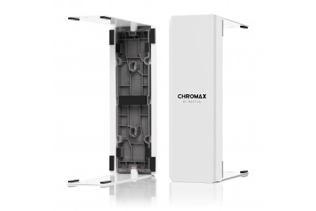 Noctua presents new chromax line fan and heatsink accessories