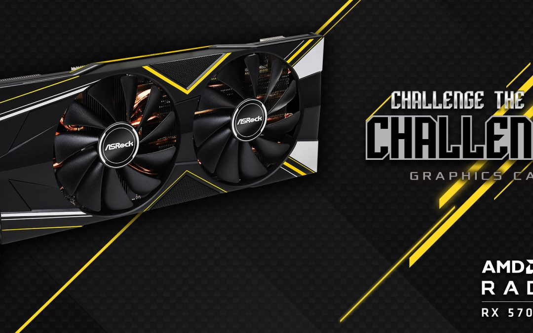 ASRock Launches Radeon RX 5700 Challenger 8G OC