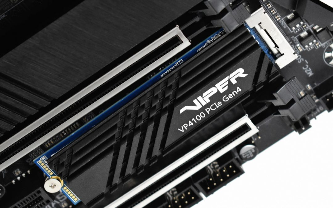 VIPER GAMING launches VIPER VP4100 M.2 2280 PCIe Gen4 x 4 SSD