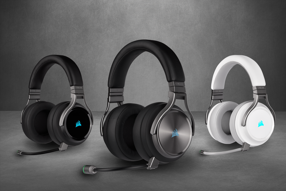 Corsair Releases New VIRTUOSO RGB Wireless Gaming Headsets