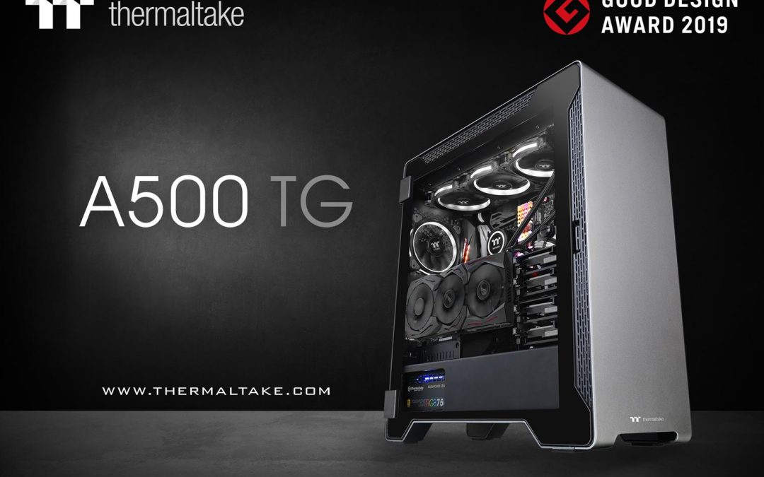 "Thermaltake wins the ""2019 Good Design Award"