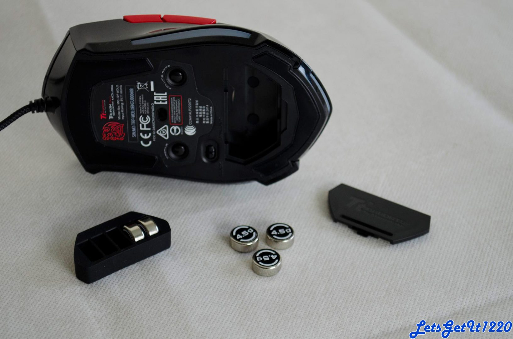 Tt eSPORTS Theron Plus mouse weights