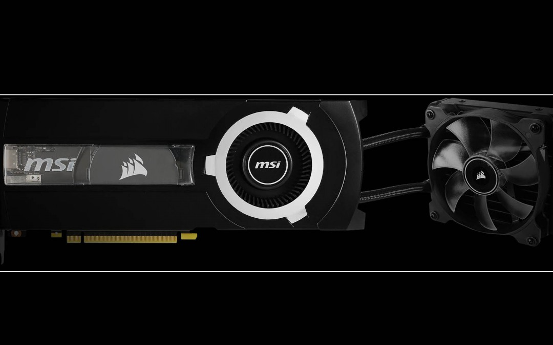 MSI and Corsair Announce the 980TI SEA HAWK GPU with AIO Liquid Cooling