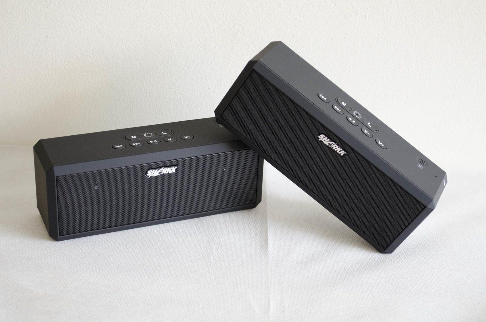 SHARKK Bluetooth Surround Sound Wireless BoomBox Buddy Set _4