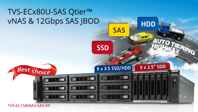 QNAP Launches Xeon Quad-core TVS-ECx80U-SAS-RP NAS