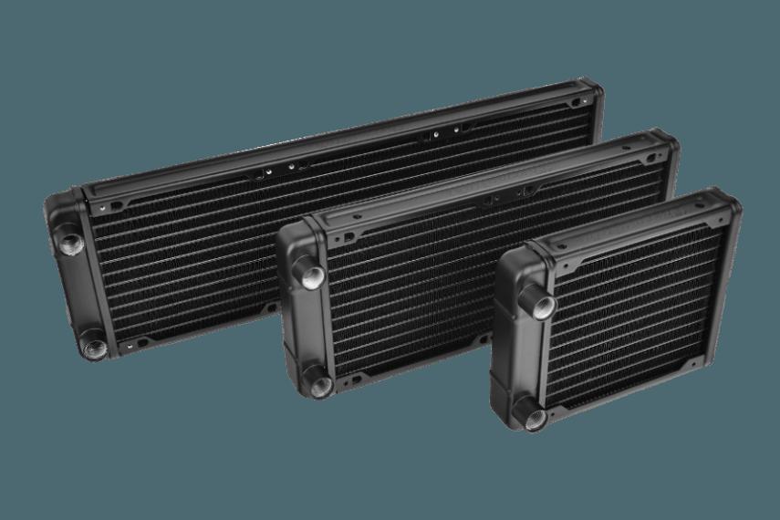 Thermaltake Pacific R120, 240, 360 Radiators