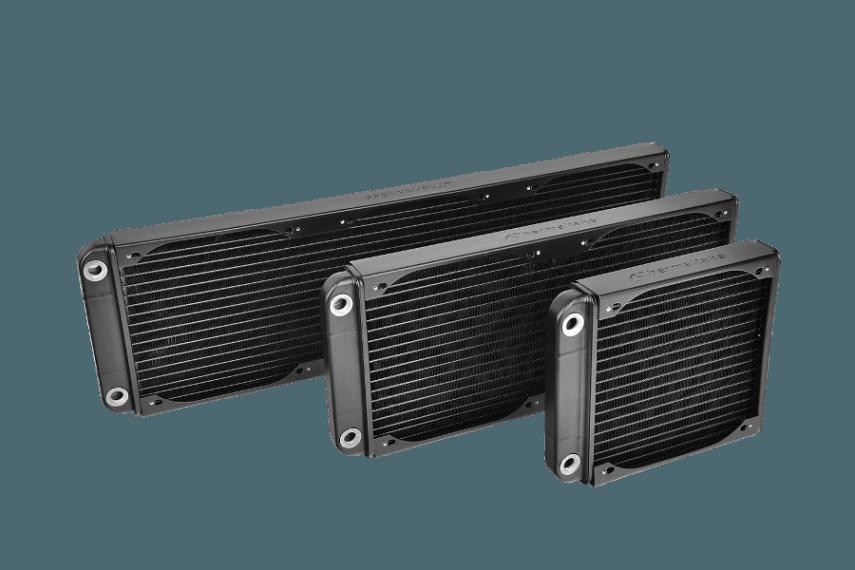 Thermaltake Pacific R180S, 360S, 540S Radiators