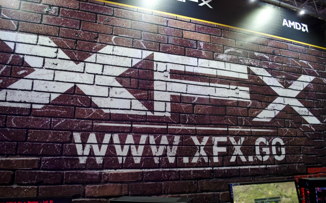 The XFX Booth at Multiplay Insomnia I55