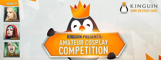 Kinguin Is Looking To Help The Cosplay Community