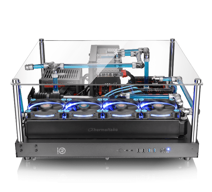 Thermaltake Core P5 ATX Open Frame Panoramic Viewing Gaming Computer Chassis_2