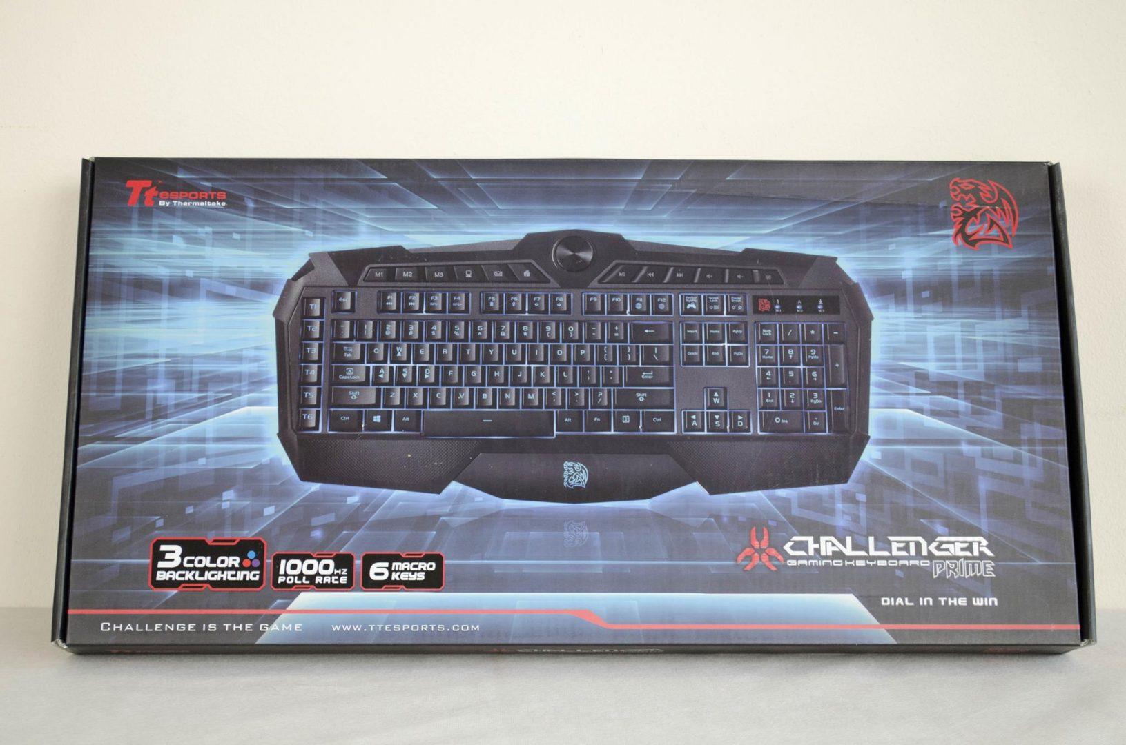 Tt eSPORTS Challenger Prime Gaming Keyboard