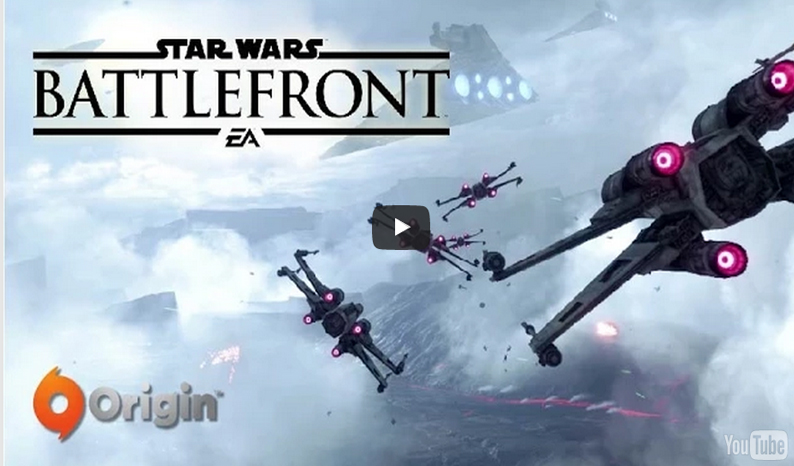 Star Wars Battlefront Beta Gameplay and Modes