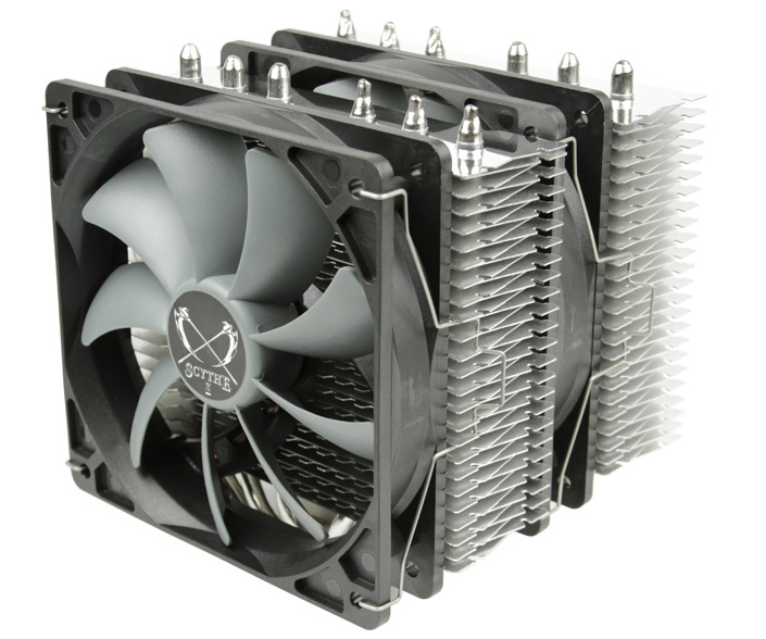 Scythe releases Fuma Twin-Tower CPU Cooler