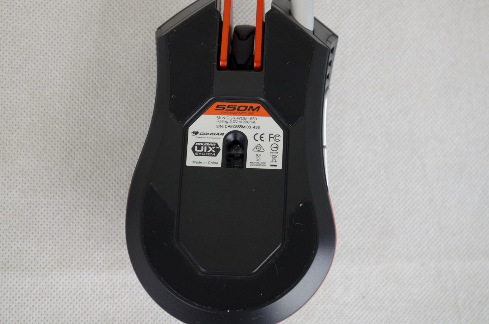 Cougar 550M Gaming Mouse Review_6