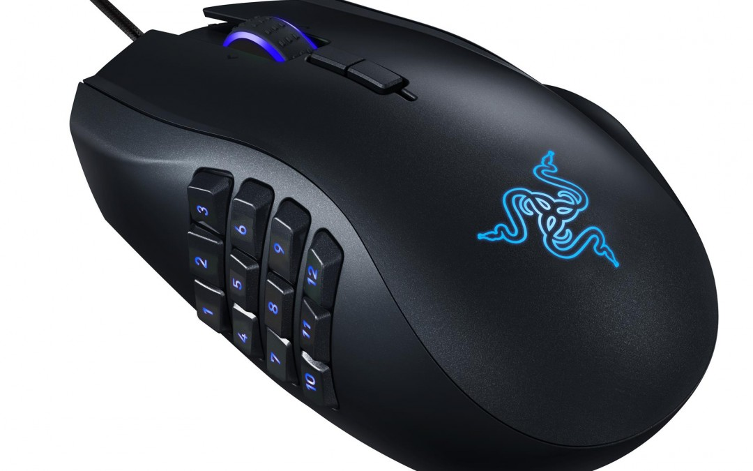 Razer Adds New Sensor and CHROMA RGB Lighting To The NAGA