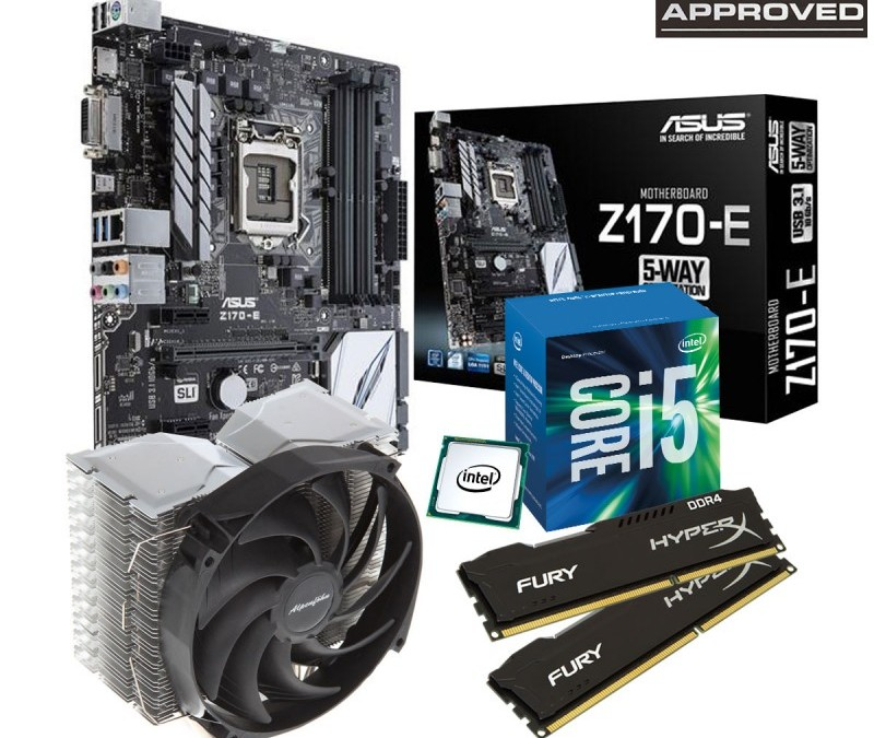 Overclockers UK Release 8PACK Approved Skylake Gaming Bundle