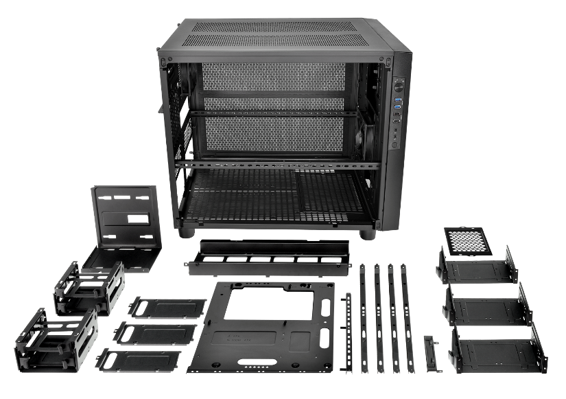 Thermaltake Core X5 Chassis- Fully Modular Design