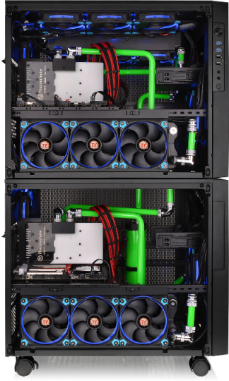 Thermaltake Core X5 Chassis- Stackable & Expandable