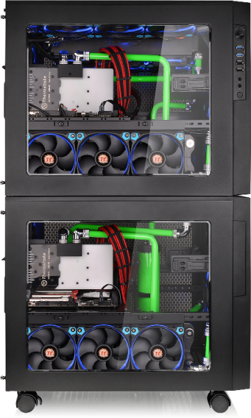 Thermaltake Core X5 Chassis- Stackable & Expandable_1
