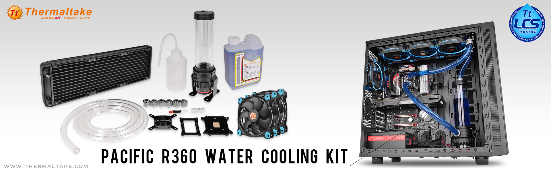 Thermaltake Pacific R360 Water Cooling Kit