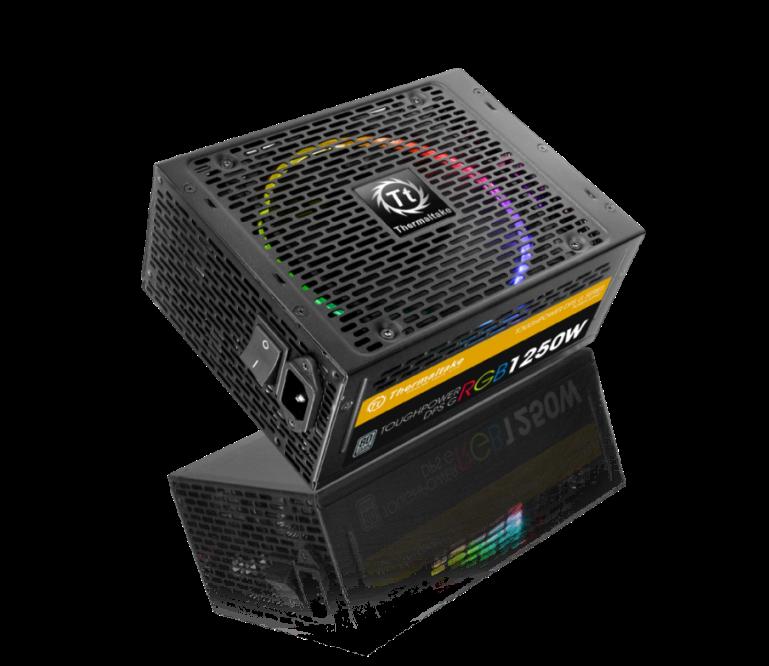 Thermaltake Toughpower DPS G RGB 1250W Titanium & SPM_2