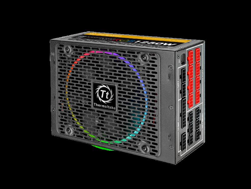 Thermaltake Toughpower DPS G RGB 1250W Titanium & SPM_3