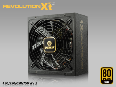Enermax Introduces REVOLUTION X't Series Of Power Supplies