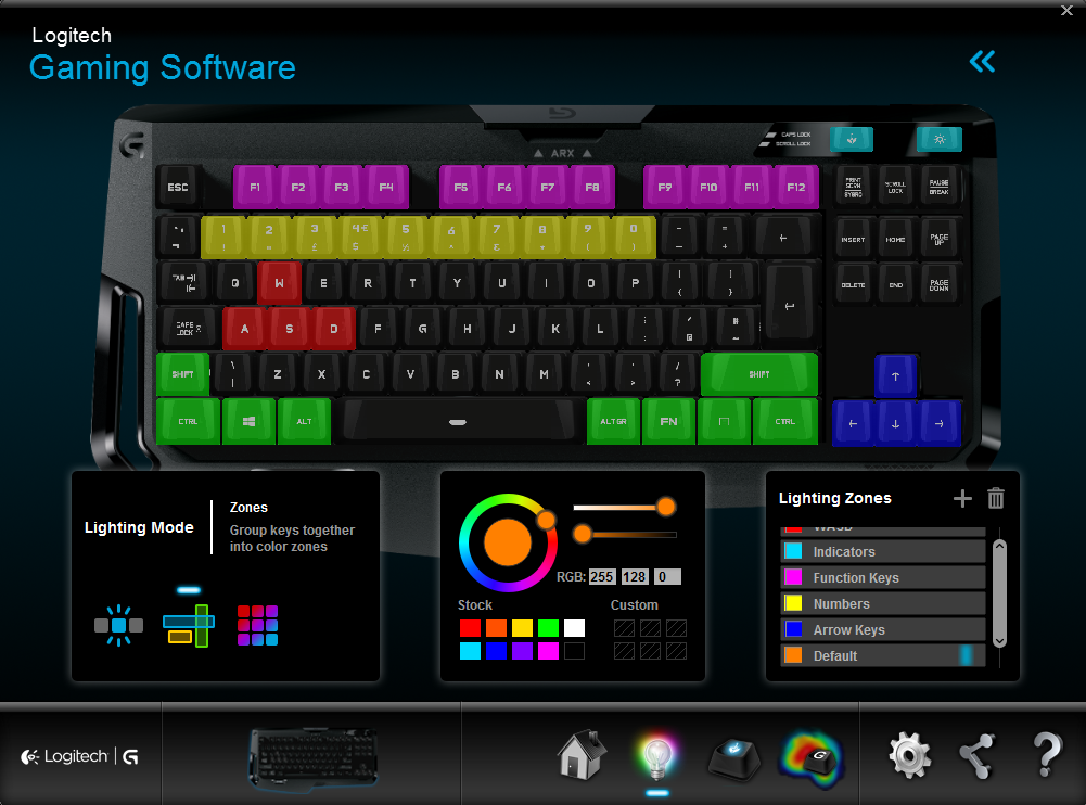 logitech g410 software2